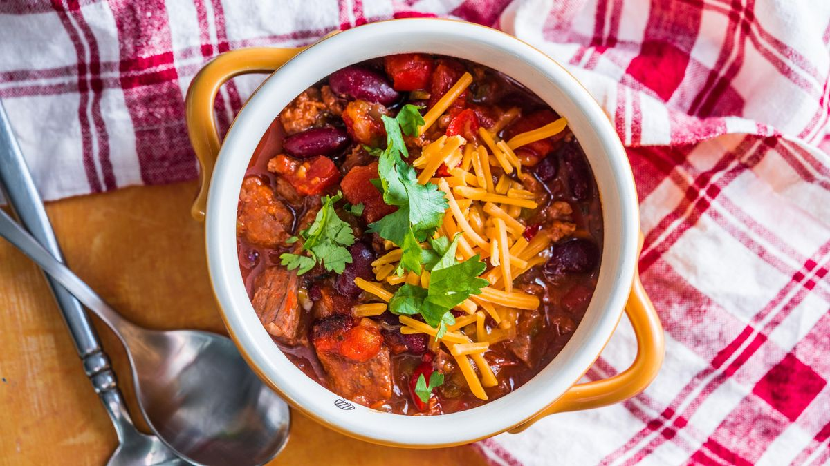 Recipe of the Day: Cowboy Steak Chili 🤠  Save the recipe!
