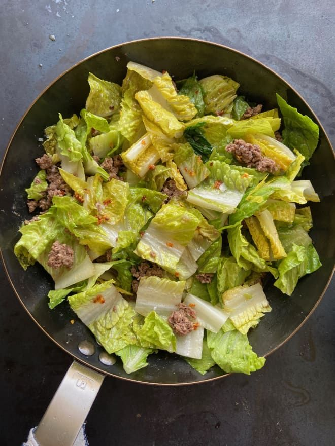 This Stir-Fried Salad Is the Cure for Late-Winter Cooking Doldrums