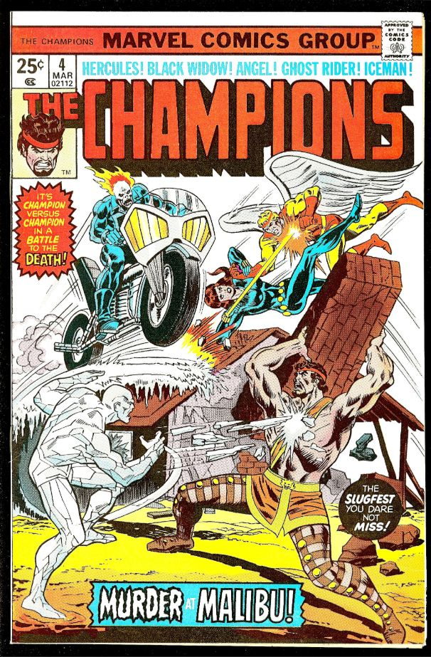 The Champions #4_March 1976_Rich Buckler/Frank Giacoia c/a