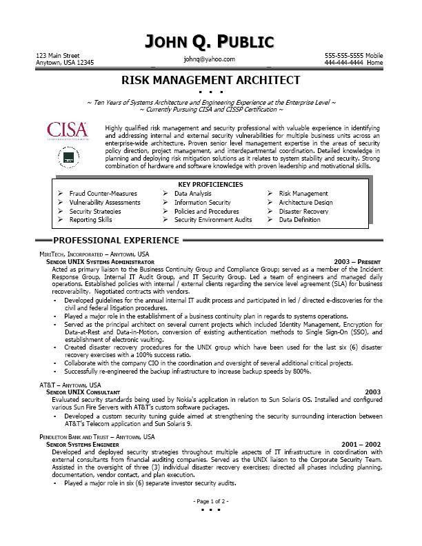 information security cover letter