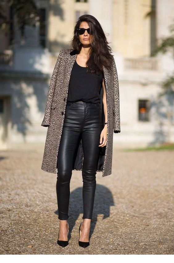 Awesome leo coat for winter time
