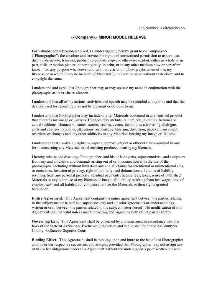 liability agreement sample hitecauto - release agreement