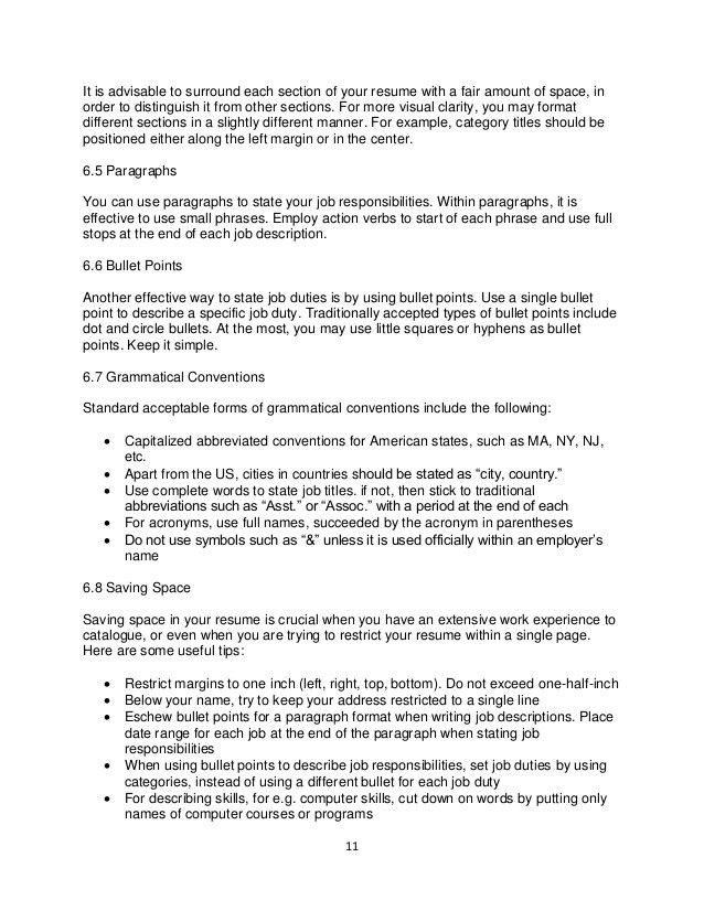 bullet point resume examples resume cv cover letter