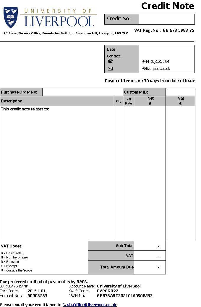 Doc#585670 Credit Memo Form u2013 Credit Memo Template 12 Free Word - sample credit memo