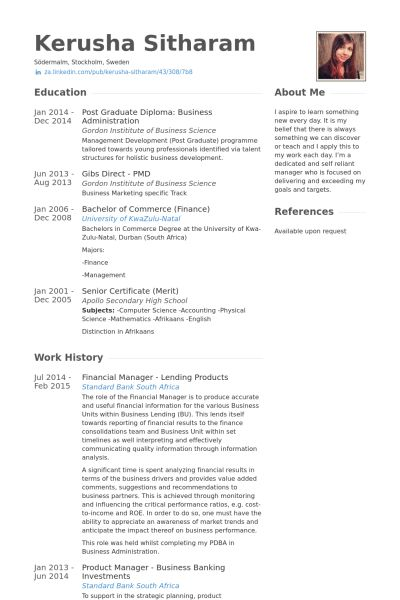 Financial Product Manager Sample Resume product manager sample