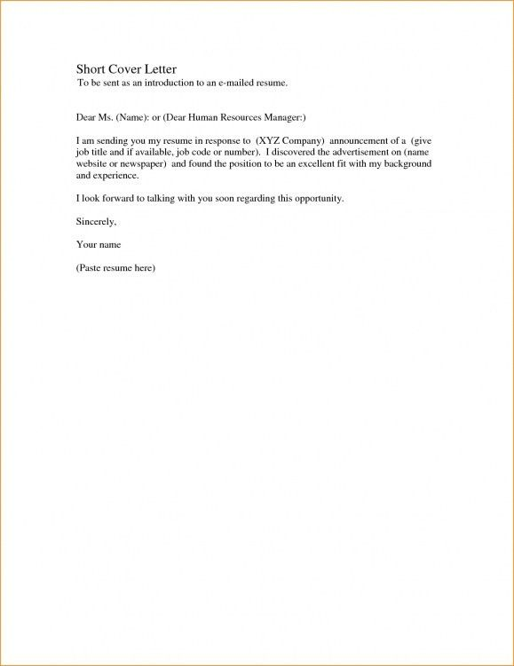 Short Cover Letter For Job Application Sample Teacher Cover - short cover letter