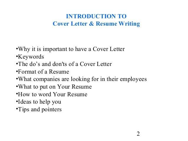 student cover letter for resume