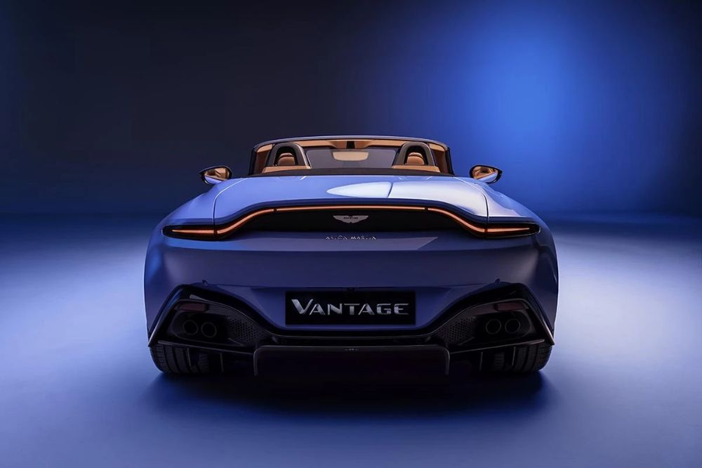 Aston Martin Introduces 2020 Vantage Roadster