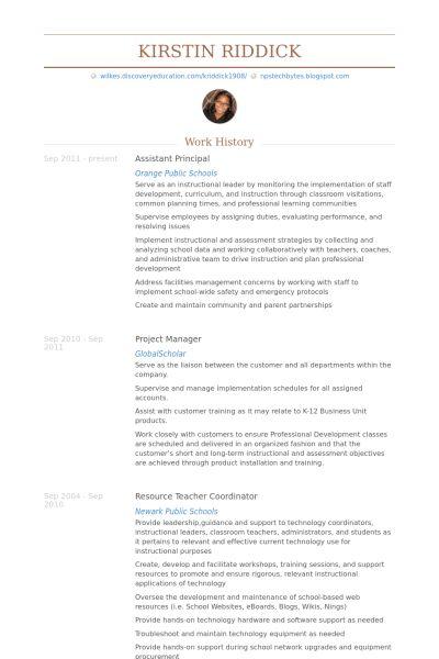 college principal resume college principal resume resume examples
