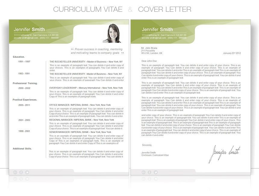 Cv Or Resume Format Free Cv Template Curriculum Vitae Template - resume doc template
