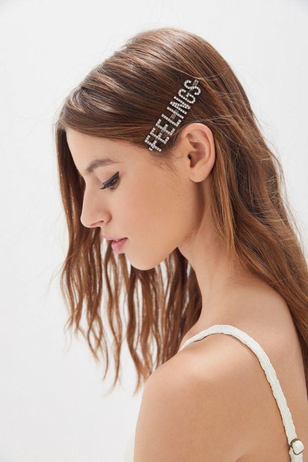 Slide View: 1: KITSCH X Justine Marjan Feelings Hair Pin