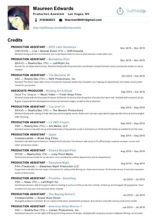 Movie executive producer job description