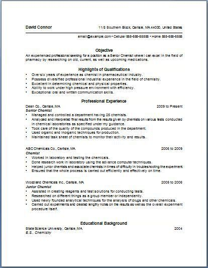 cover letter with bullet points