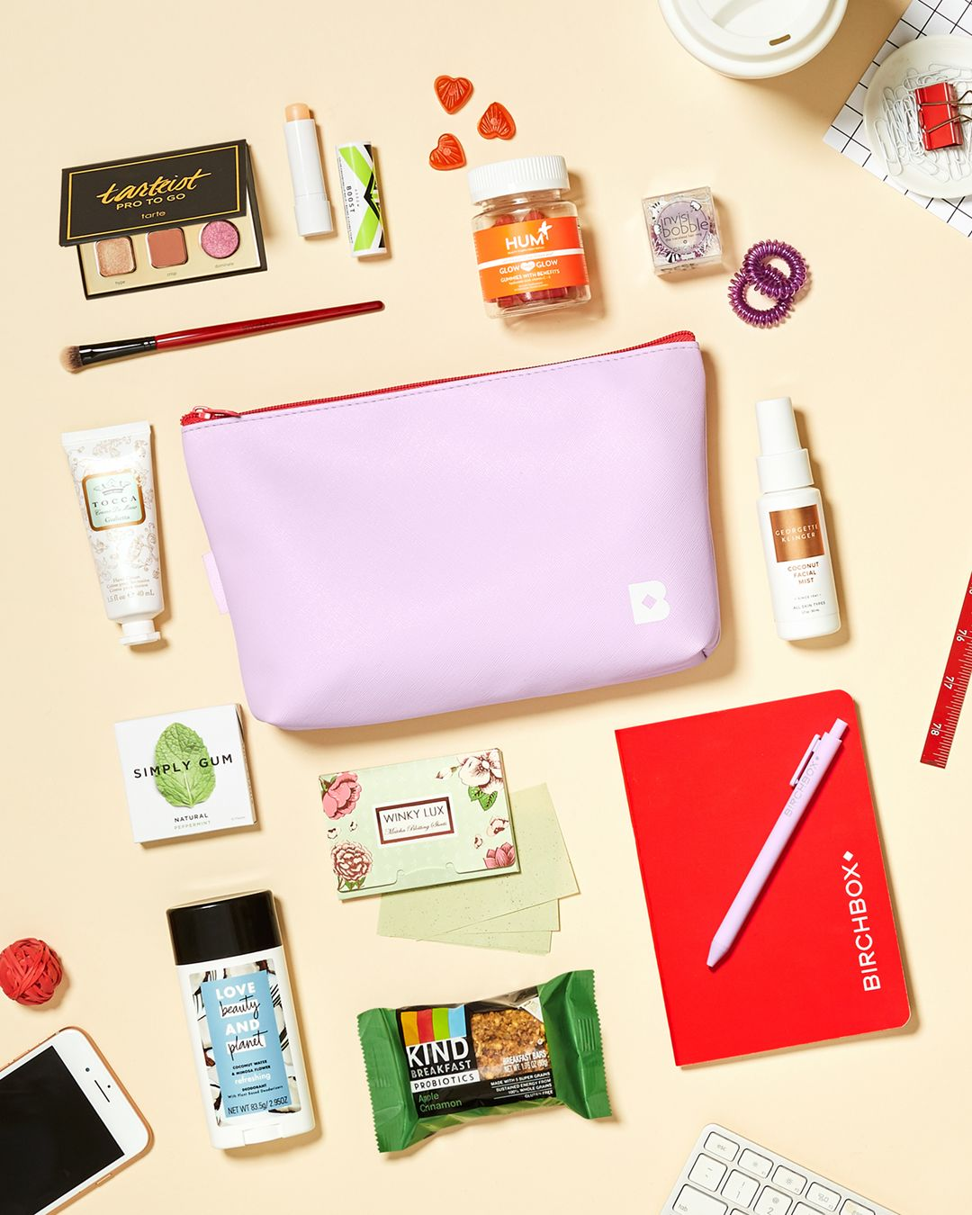 Desk Side Essentials in One Bag.