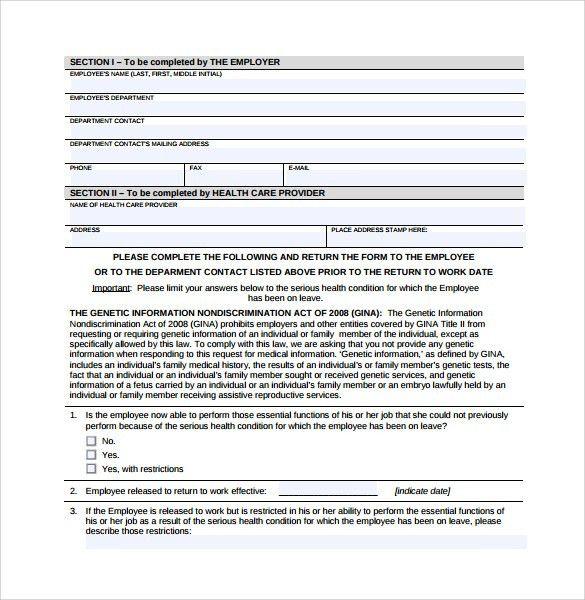 Return to work medical form node2004 resume template health certificate sample health certificate lc certificates of return to work medical form altavistaventures Choice Image
