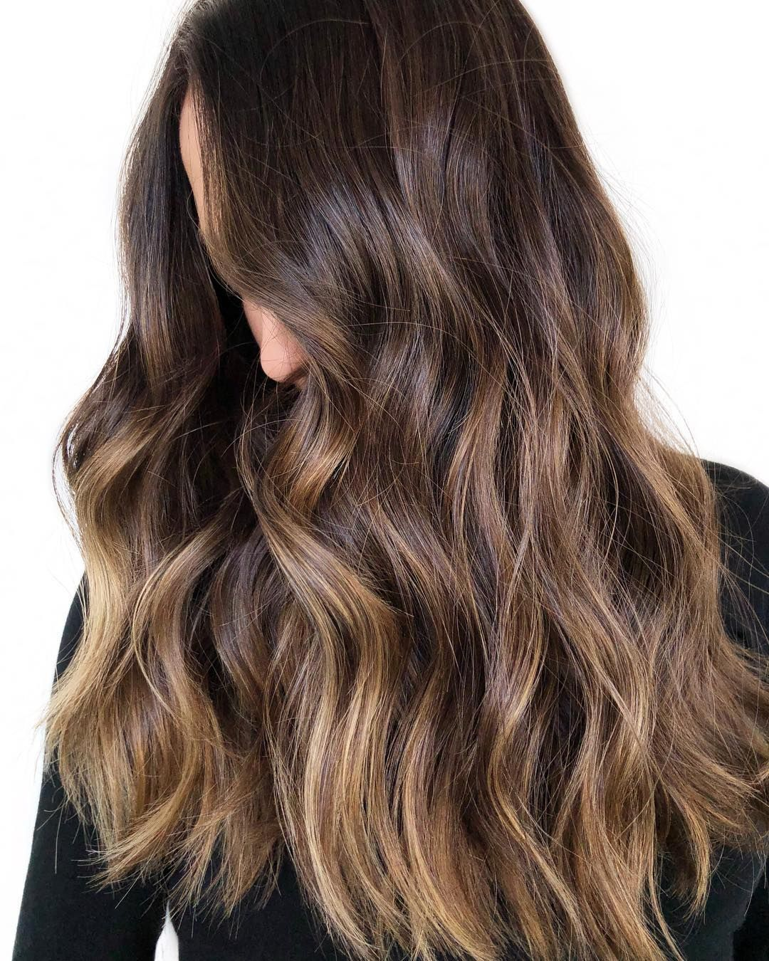 44 Balayage Hair Color Ideas With Blonde – brown hair with highlights ,balayagehair #haircolor #brownhair #blonde