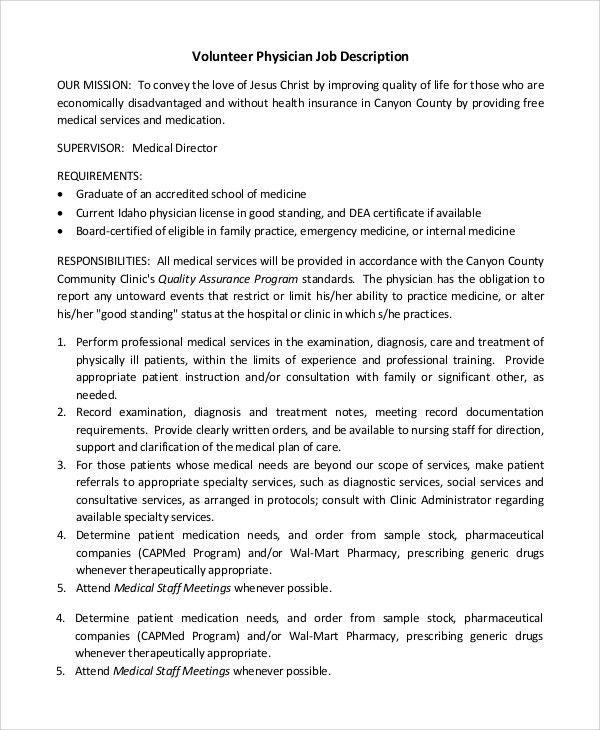 service director job description medical director job description technical director job description