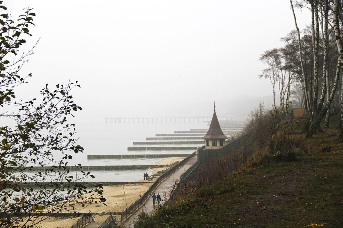 Туман идет с моря (ноябрь, Пионерский). Фото: Evgenia Shveda