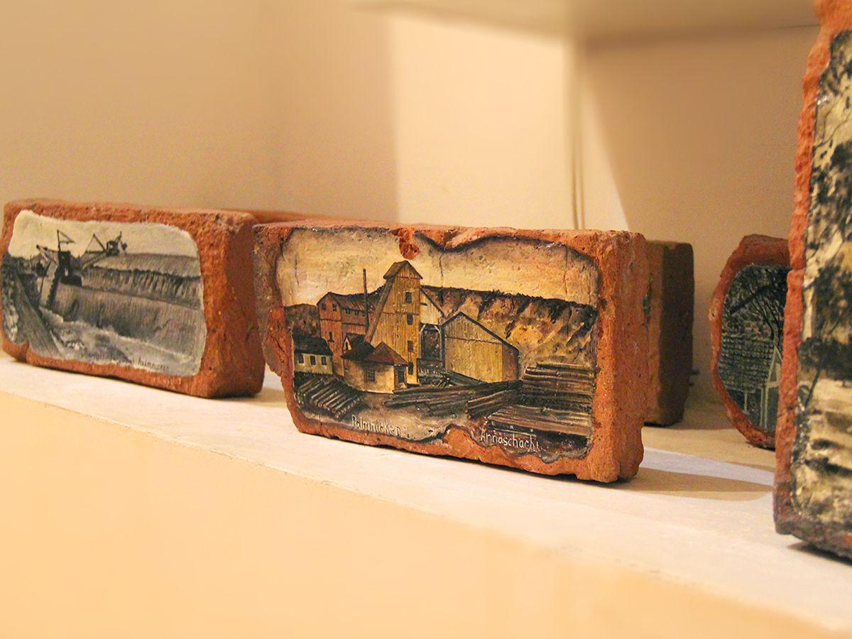 Работы из музея в Янтарном