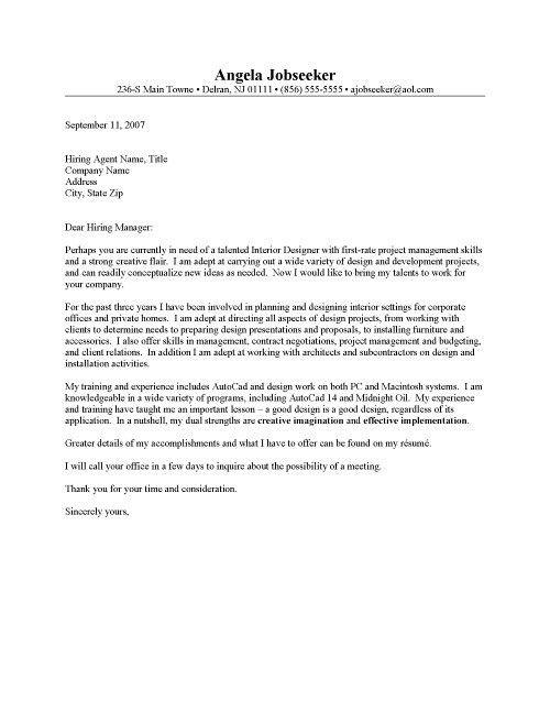 Cover Letter For Graphic Design] Graphic Designer Cover Letter