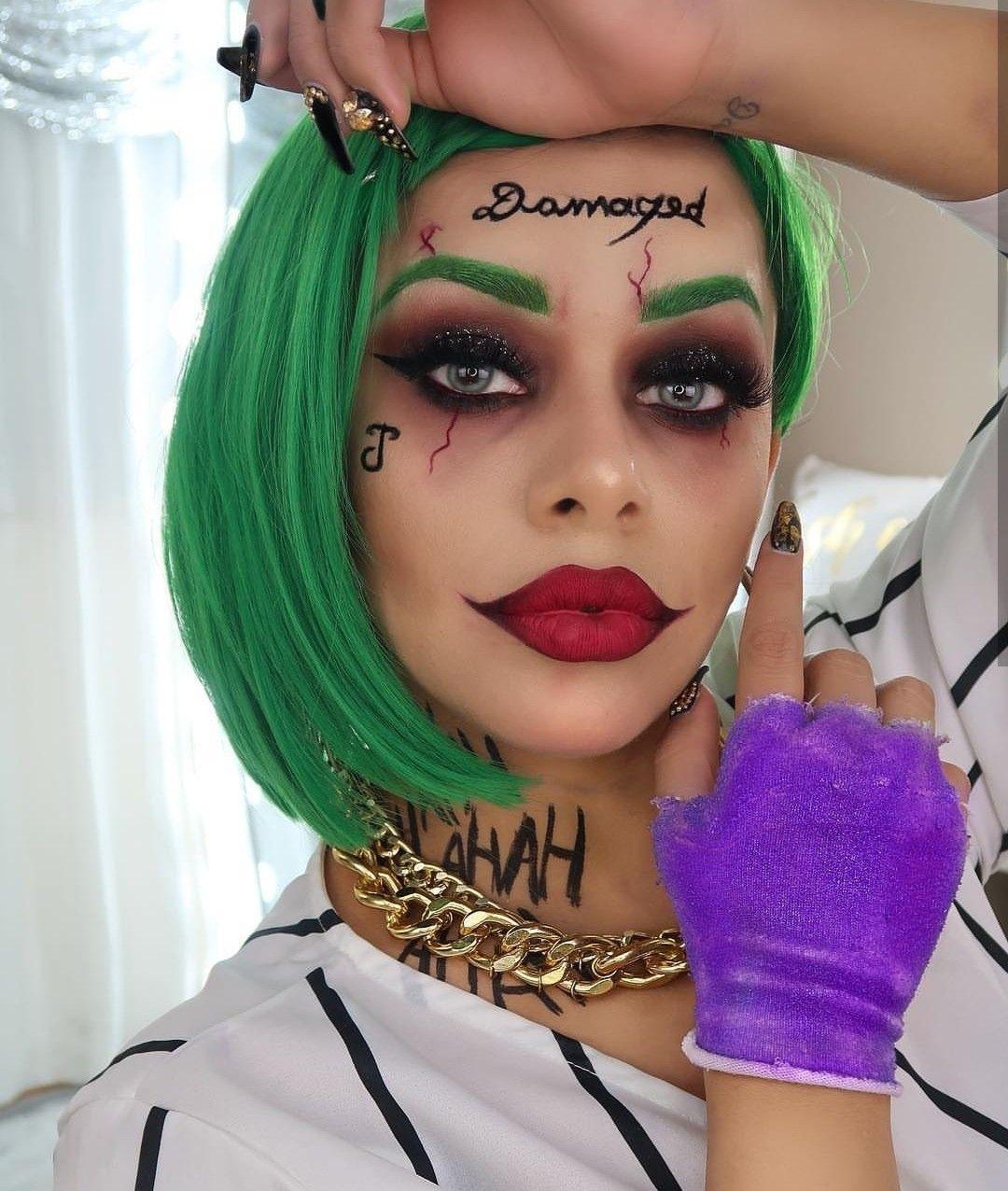 Maquillaje Artístico Maquillaje de joker, Disfraces