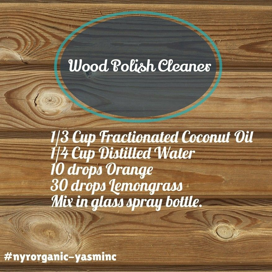 DIY wood polish cleaner essentialoils