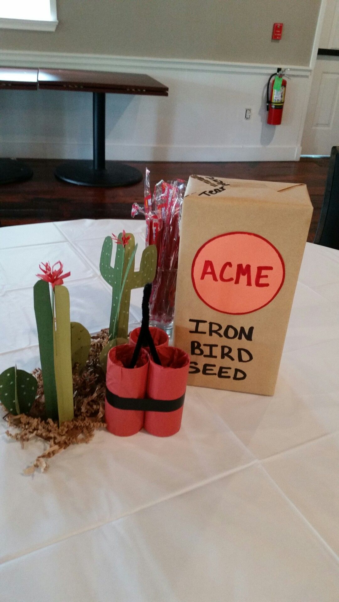Tnt Wile E Coyote Road Runner Birthday Party Decorations
