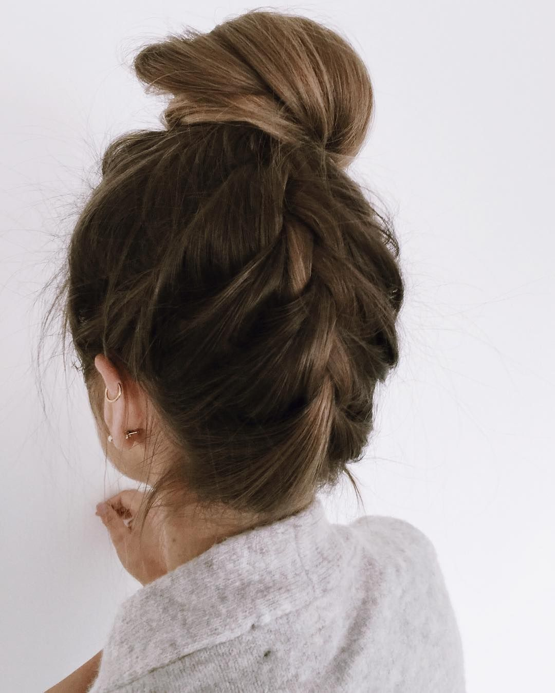 "Loose french braid and a messy bun- looks like my summer hairdo!<p><a href=""http://www.homeinteriordesign.org/2018/02/short-guide-to-interior-decoration.html"">Short guide to interior decoration</a></p>"