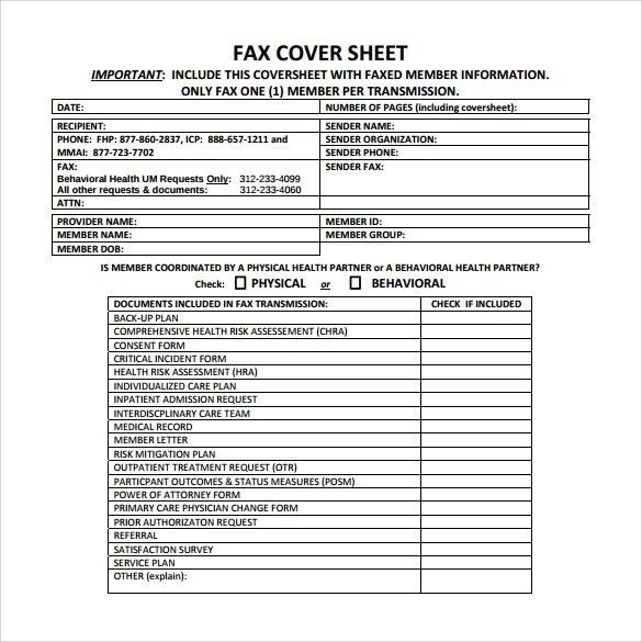Fax Cover Sheet Microsoft Free Fax Cover Sheet Template Printable - sample office fax cover sheet