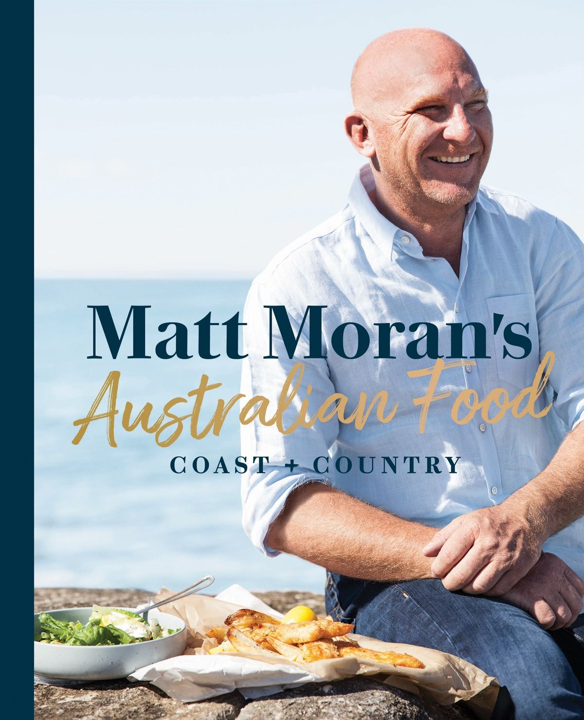 Matt Moran's Australian Food: Coast + Country: Since I am in Australia at the moment, and eating (of course) such wonderful food there, I really wanted to find an Australian book for CookbookCorner. I was beginning to fear I'd never find one in time as my schedule so far hasn't given any time for mooching around a bookshop, but providence provided.