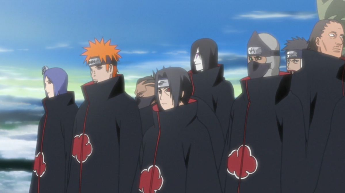 Akatsuki stronger than kara