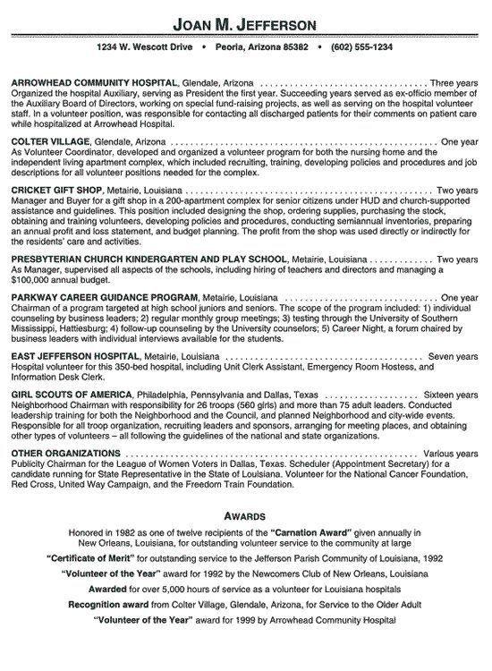 Sample Resume Volunteer Work Volunteer Resume Social Worker