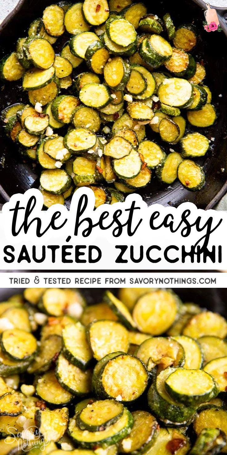 Easy and Healthy Sautéed Zucchini