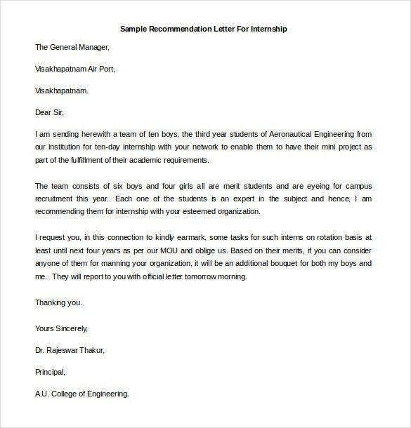 Free Recommendation Letter Template 21 Recommendation Letter - nursing recommendation letter