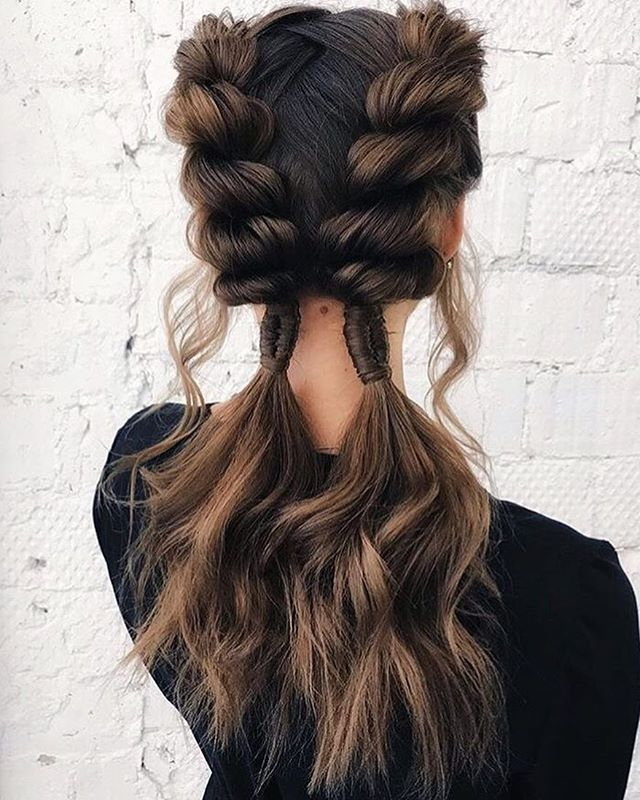 """Fun braids for the Summertime @elvira_shmeleva_ Try our Braid Sheen Spray as well to keep your hair held tight while it conditions <a class=""""pintag"""" href=""""/explore/Braidedhairstyles/"""" title=""""#Braidedhairstyles explore Pinterest"""">#Braidedhairstyles</a><p><a href=""""http://www.homeinteriordesign.org/2018/02/short-guide-to-interior-decoration.html"""">Short guide to interior decoration</a></p>"""