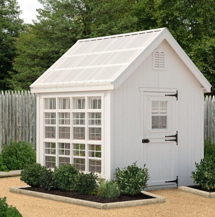 Colonial Gable Hobby Greenhouse