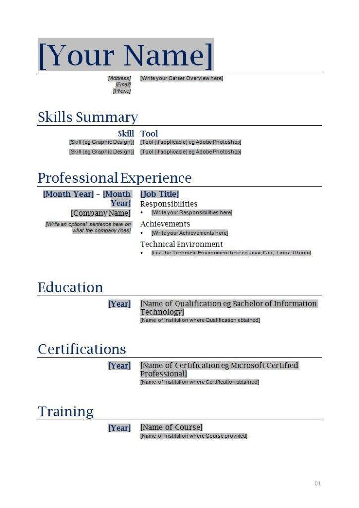 Resume Builder Free Online Printable Best 25 Online Resume - free online resume templates