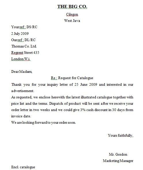 Sample Of Enquiry Letter 2 Inquiry Letter Sample 2, 10 Enquiry - inquiry letter