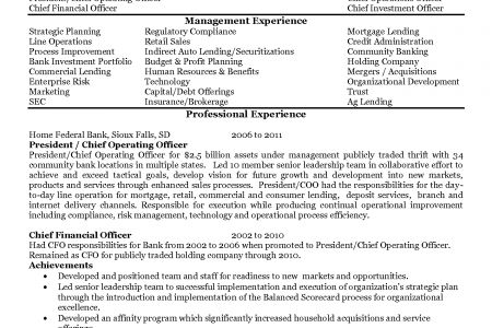 Chief learning officer sample resume chief learning officer - aml officer sample resume