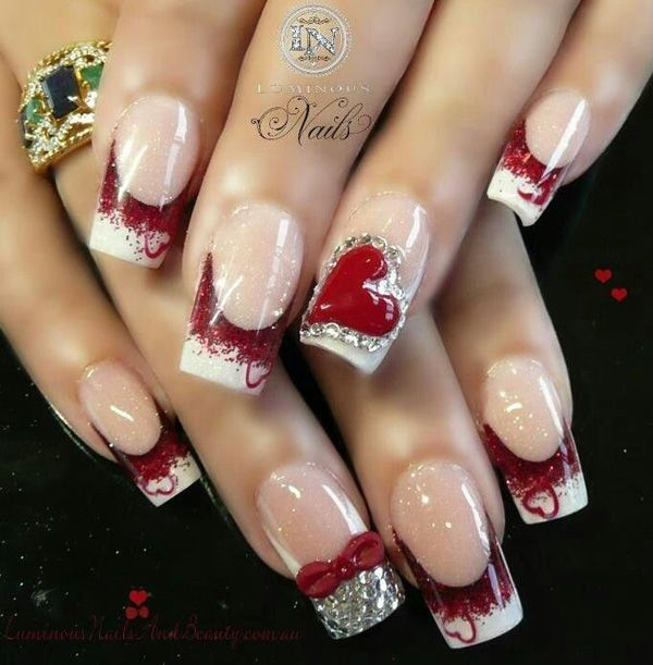You can now celebrate Valentine's Day by adding red and silver glitters on your French tip. Add little hearts or create a big one and surround it with little diamonds for a more fabulous finish. When it comes to nails,… Continue Reading →
