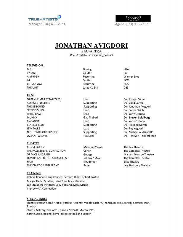 Entry Level Job Resume Template Entry Level Resume Templates To - beginner resume template