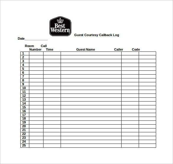 ... Guest Register Template Printable Sign In Sheet Visitor Class And   Guest  Register Template ...  Guest Register Template