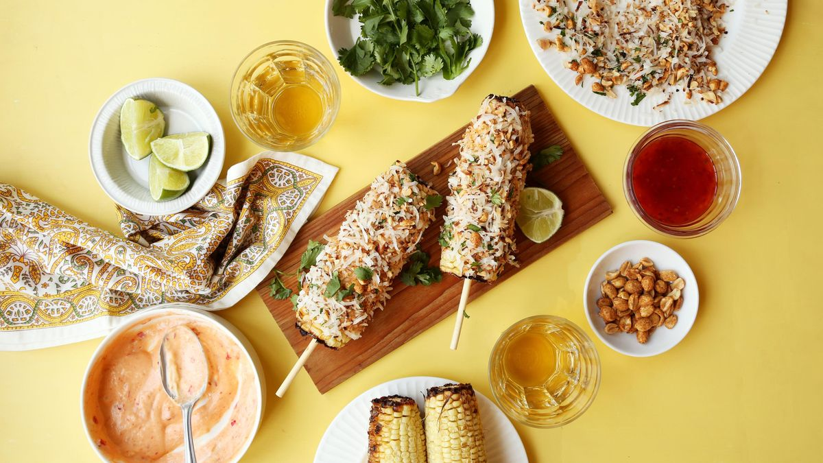 This elote has us craving summertime! 🌽  Save the recipe for Thai-Inspired Elote!