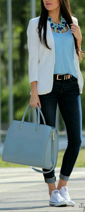 Great outfit but that bag is gorgeous