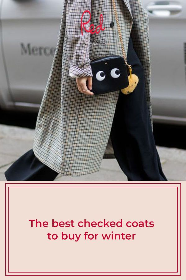The best checked coats to buy for winter