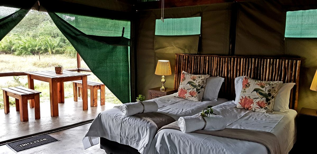 Luxury Tented units in Kosi Bay, South Africa. North