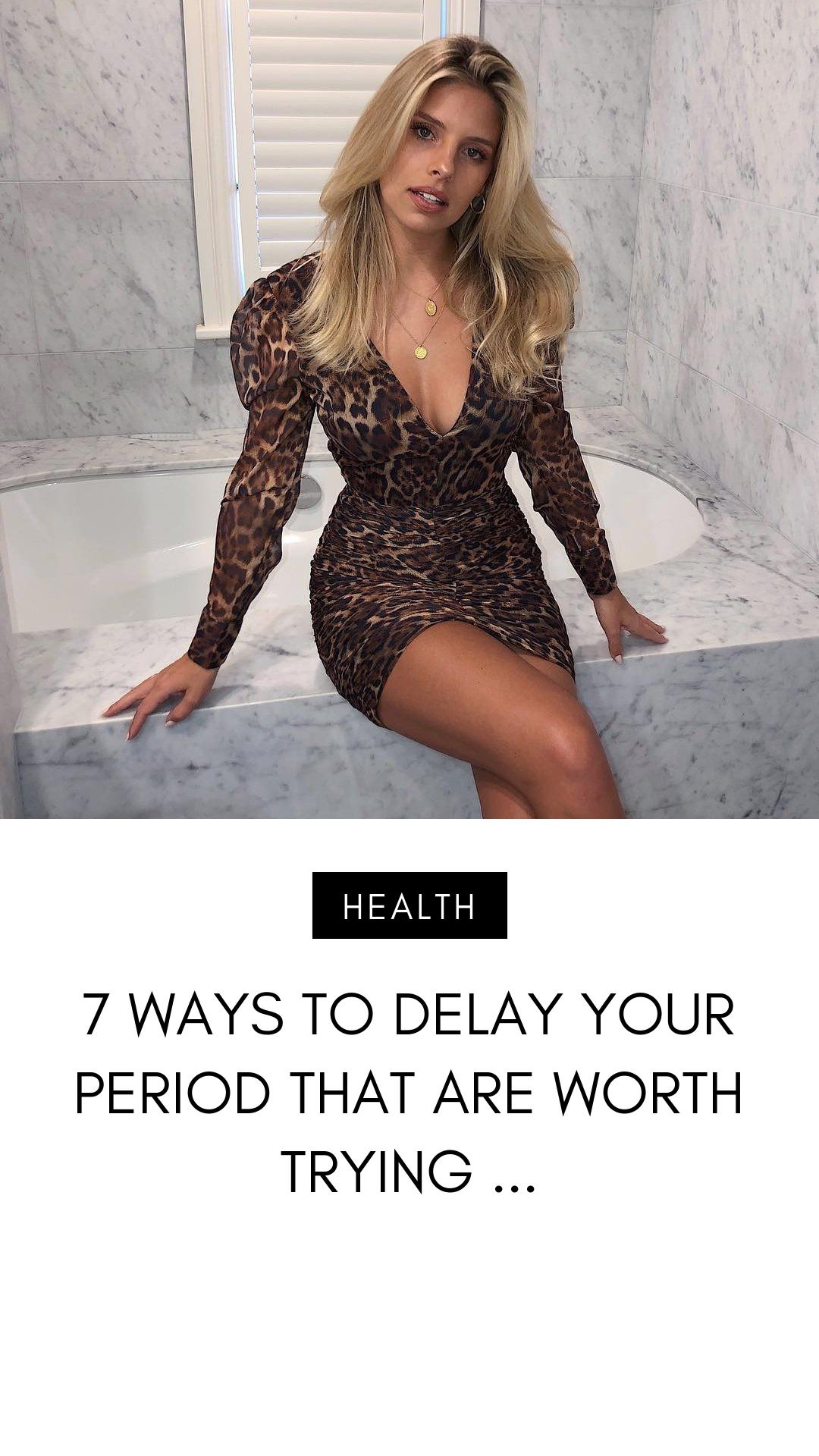 There are some interesting ways to delay your period. Mother Nature doesn't always accommodate our schedule; sometimes she even tends to…
