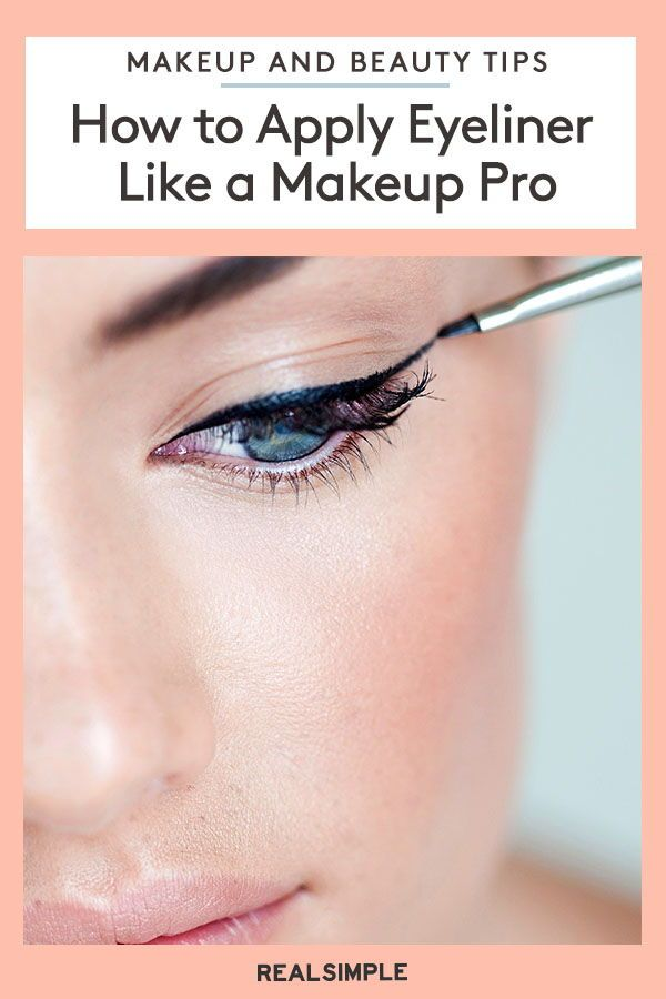 How to Apply Eyeliner Like a Makeup Pro