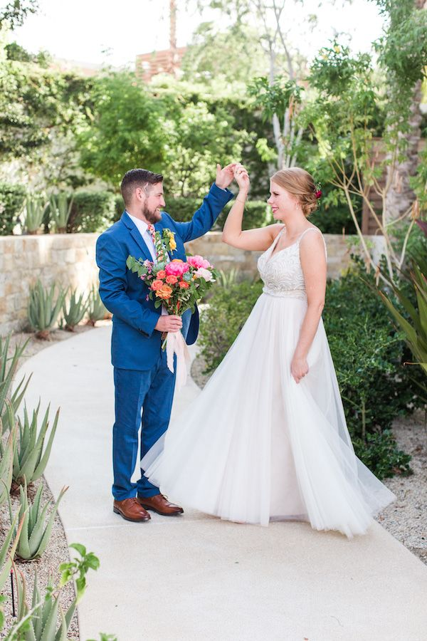 Colorful Destination Wedding in Cabo   The Perfect Palette