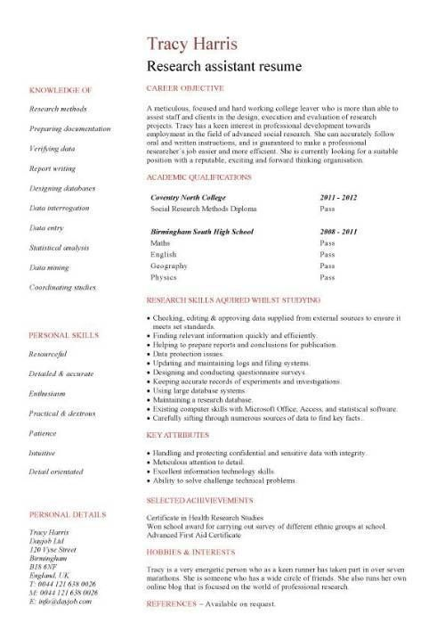 market research resume examples examples of resumes